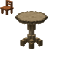Wooden Table (Circle)